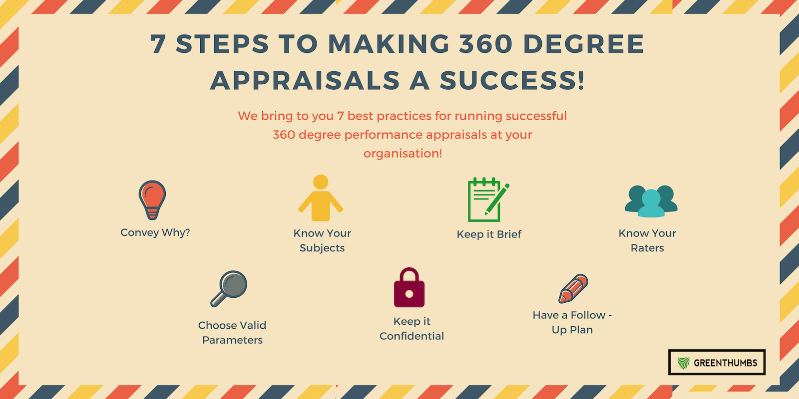 7 steps to making 360 Degree Appraisals a success!