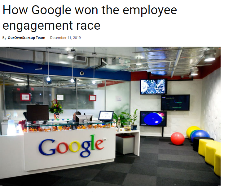 Employee Engagement Race
